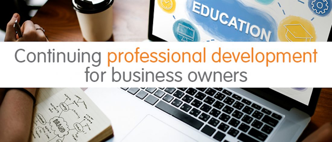 Continuing professional development for business owners