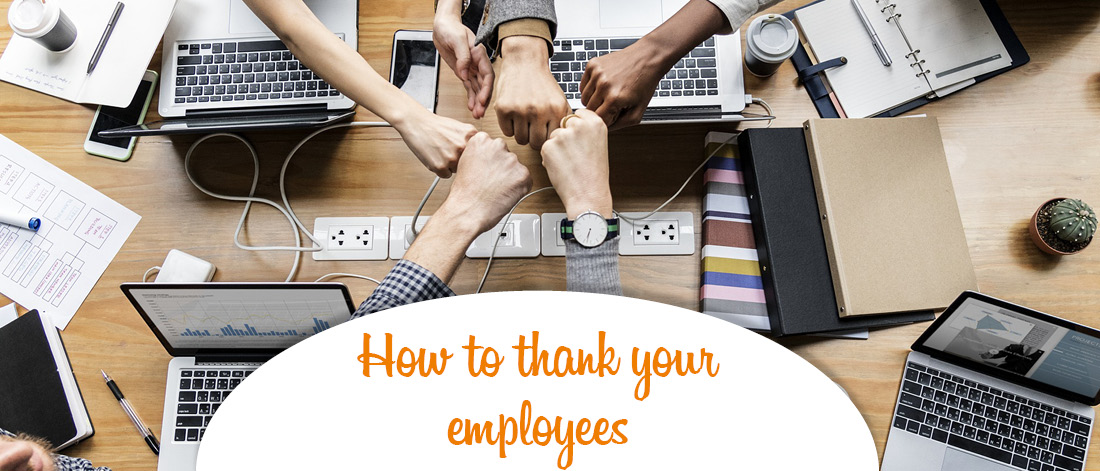 How to thank employees