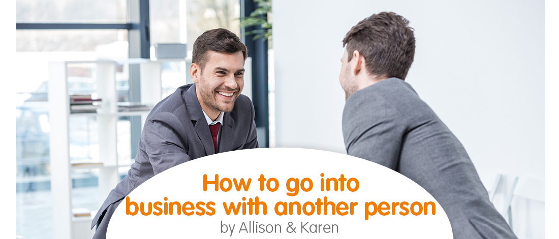 Business with another person