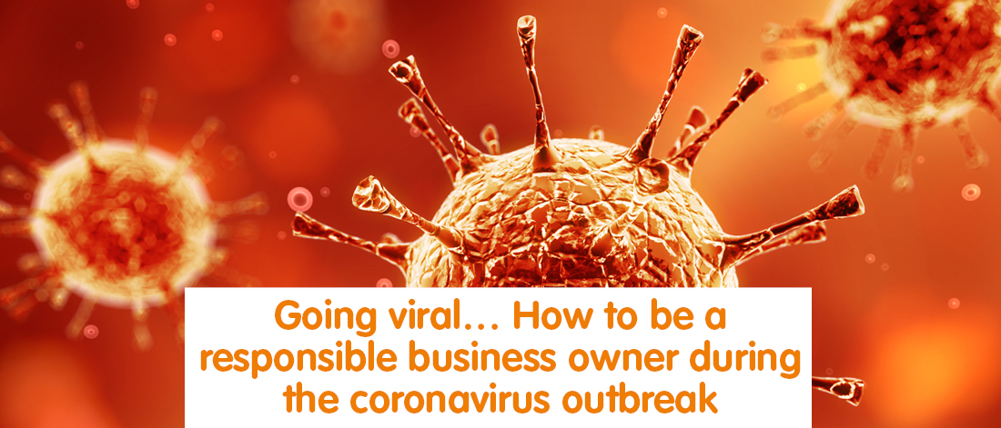 Graphic of a virus