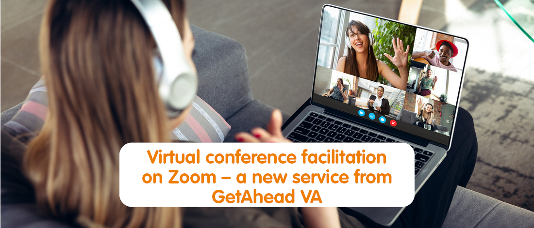 Virtual Assistant facilitating a Zoom meeting or webinar